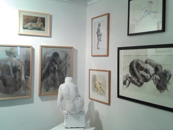Picture of exhibition space at Masbro