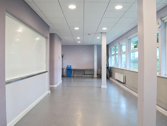Picture of cafe space for Edward Woods Room Hire page