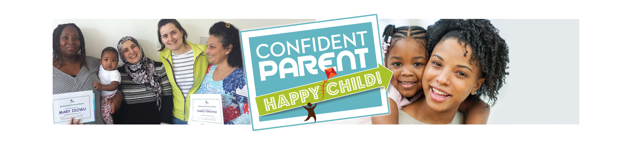 Masbro Confident Parent Happy Child page iphone banner