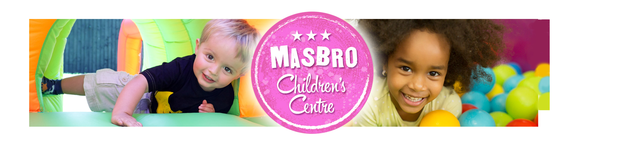 Banner 1 for Masbro Childrens Centre page