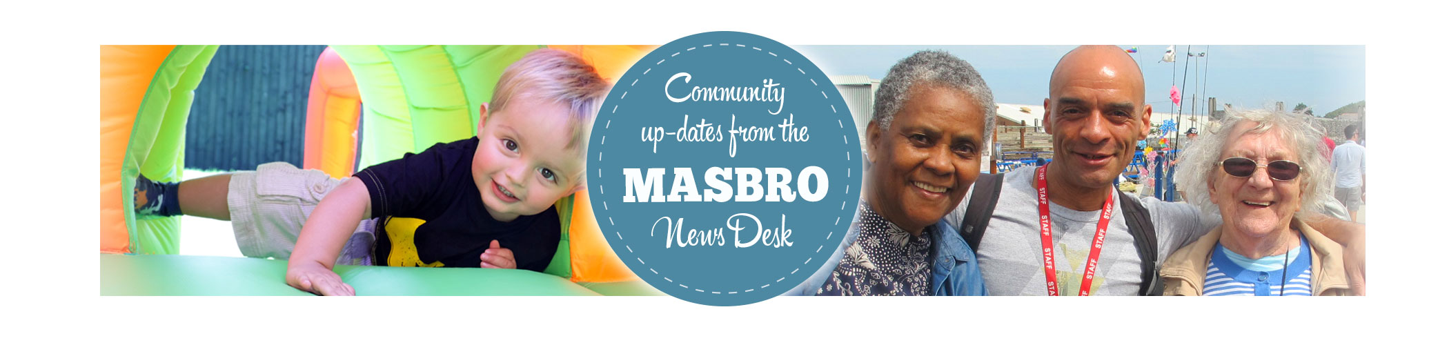 Masbro News Desk page iphone banner
