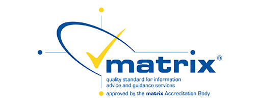 Matrix logo quality standard for information advice and guidance services