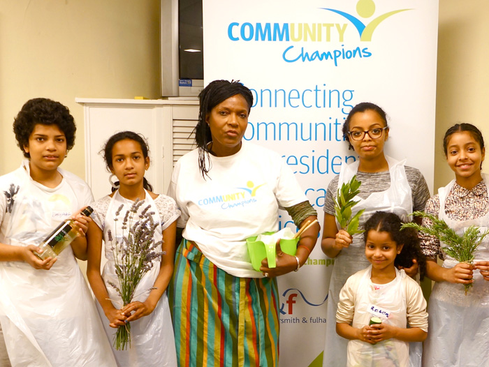 Image of Community Champions cookery class