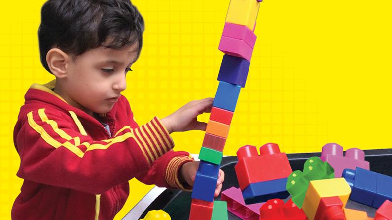 Image of boy at Masbro Children's Centre