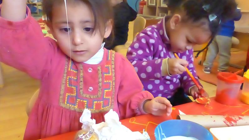 Image of children at Masbro Children's Centre