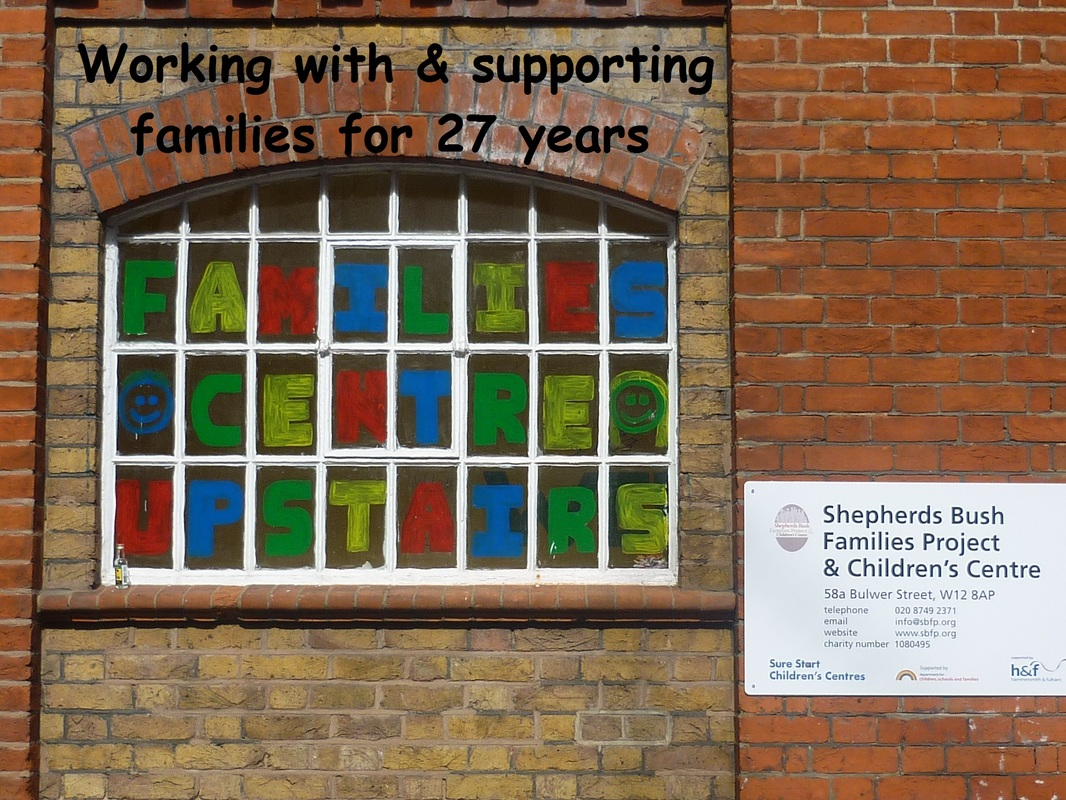 Image of exterior of Shepherds Bush Families Project