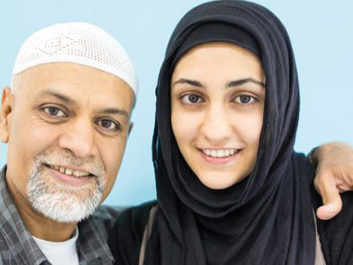 MUSLIM DAD AND TEEN DAUGHTER 700px
